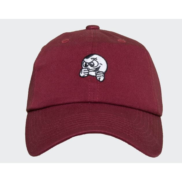 Unfair Athletics Punshingball Cap Burgundy Dunkelrot