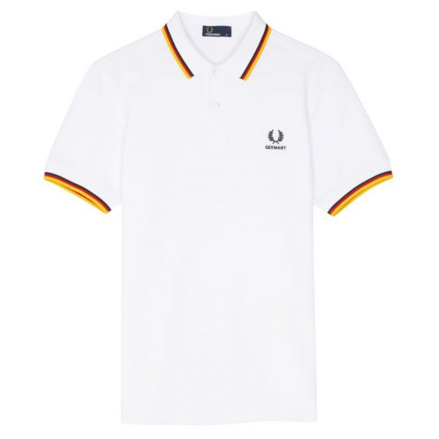 Fred Perry County Shirt Bunt