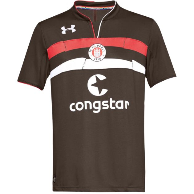 Under Armour St Pauli Home Trikot Braun