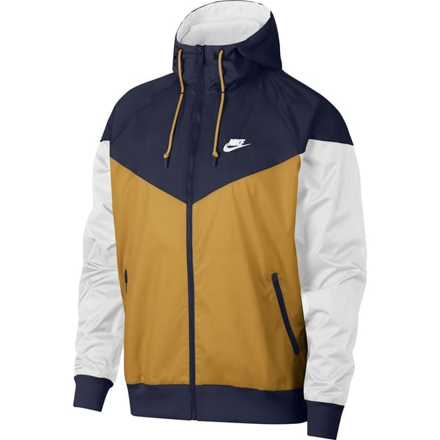 Nike M NSW HE Windrunner Jacket HD Gold