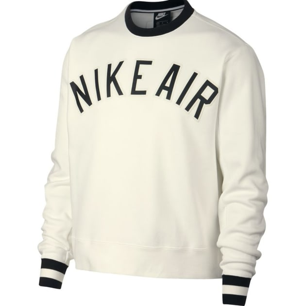 Nike M NSW Air Crew Fleece Weiß