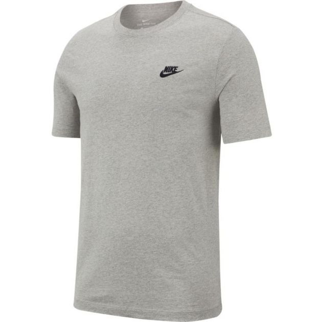 Nike M NSW CLUB TEE Grau
