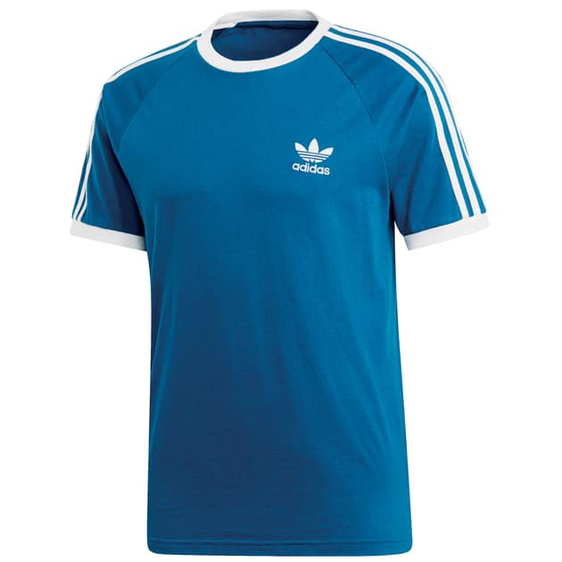 adidas Originals 3-STRIPES TEE Kornblau