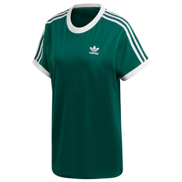 adidas Originals 3 STRIPES TEE Grün
