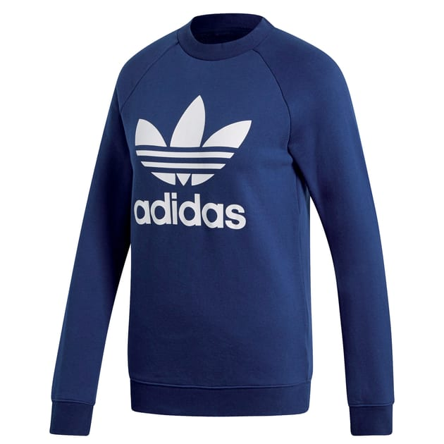 adidas Originals TRF CREW SWEAT Dunkelblau