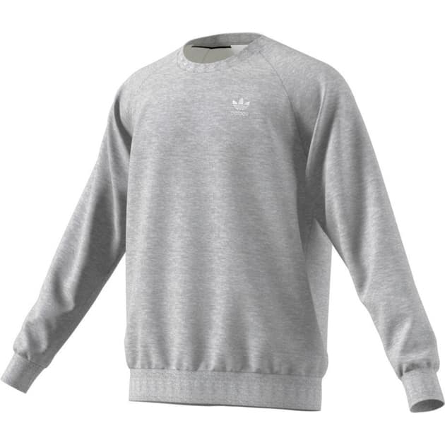adidas Originals ESSENTIAL CREW Grau