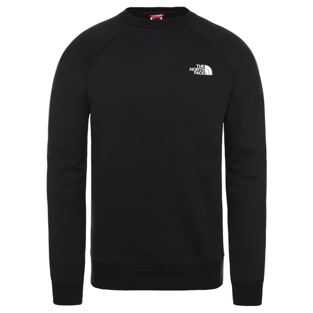 The North Face M RAGLAN REDBOX CREW Schwarz