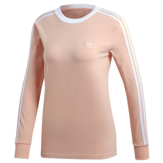 adidas Originals 3 STR LS TEE Pink