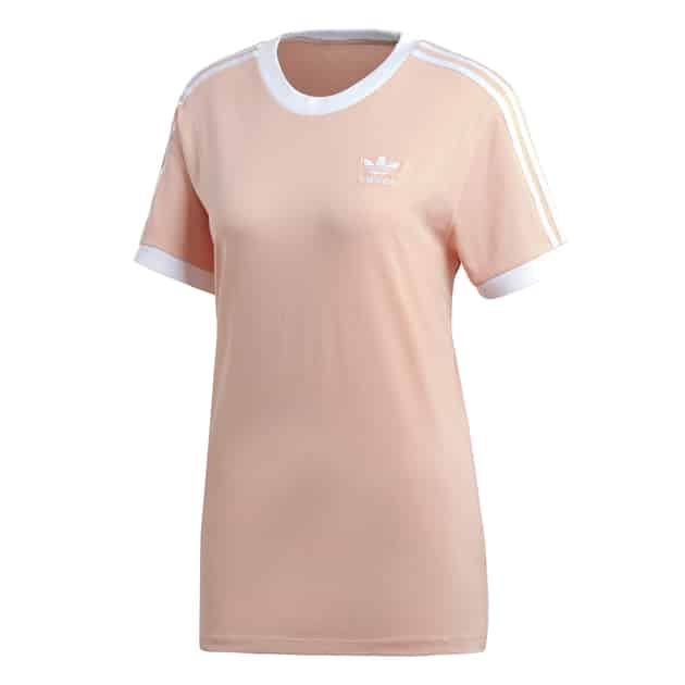 adidas Originals 3 STRIPES TEE Pink