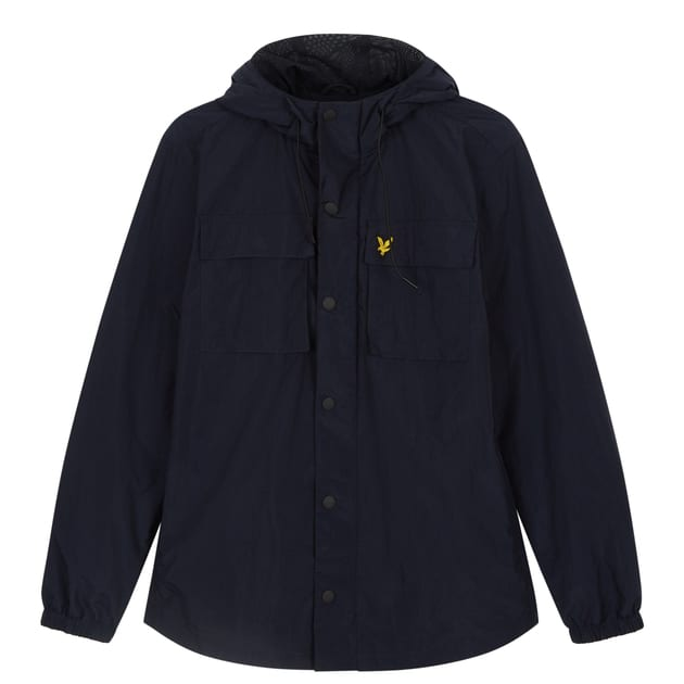 Lyle & Scott Pocket Jacket Dunkelblau