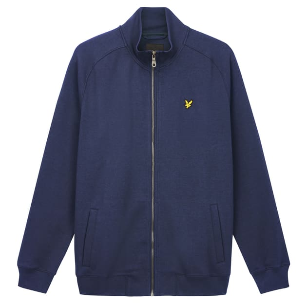 Lyle & Scott Funnel Neck Zip Trough Sweatshirt bei Sport Münzinger München