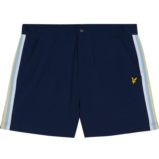 Lyle & Scott Side Stripe Short Dunkelblau