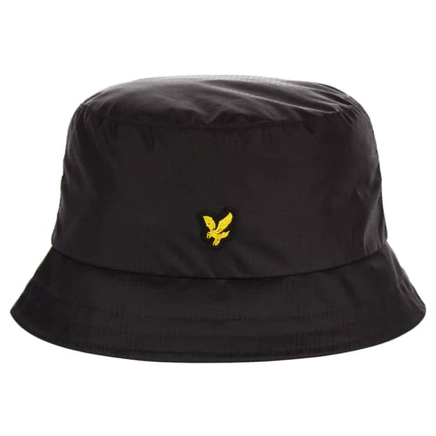 Lyle & Scott Ripstop Bucket Hat Schwarz