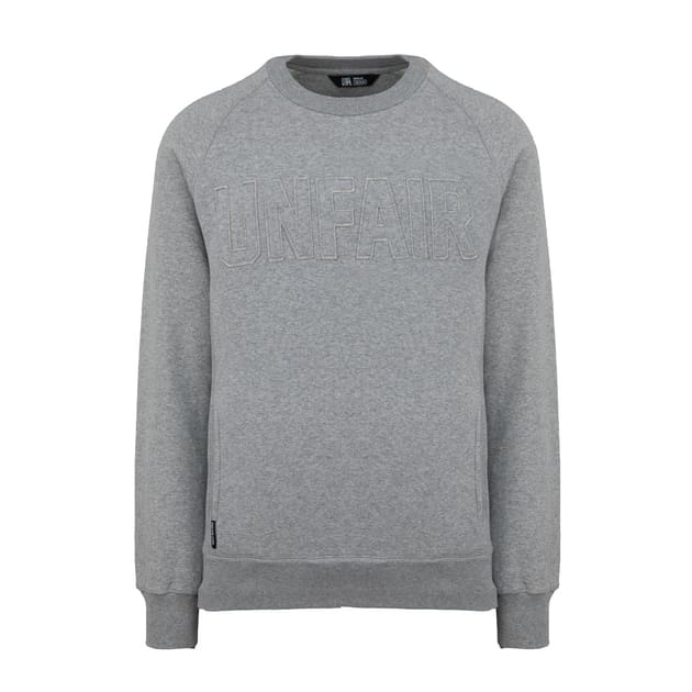 Unfair Athletics One Tone Sweatshirt Grau