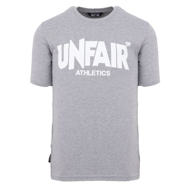 Unfair Athletics Classic Label T-Shirt Grau