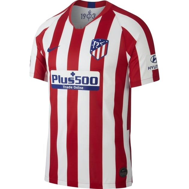 Nike Atletico Madrid Home Trikot Kids Rot