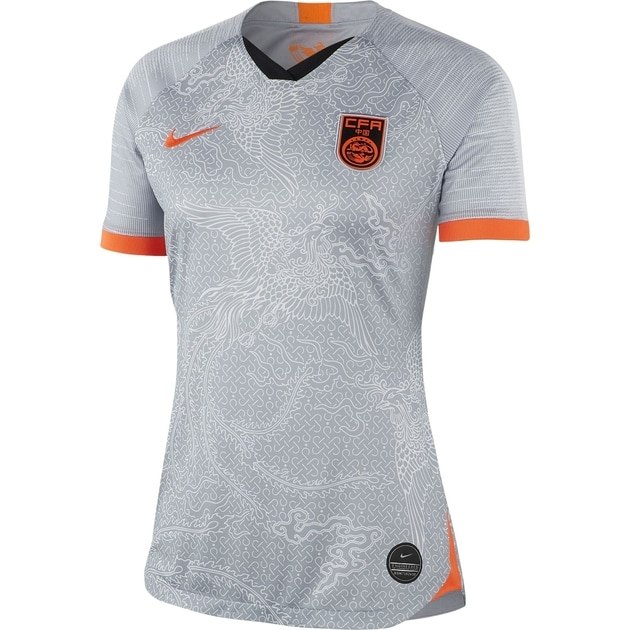 Nike Nike China Frauen Away Trikot Grau