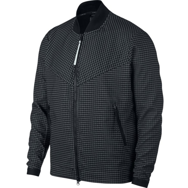Nike M NSW Tech Pack Jacket Grid Schwarz