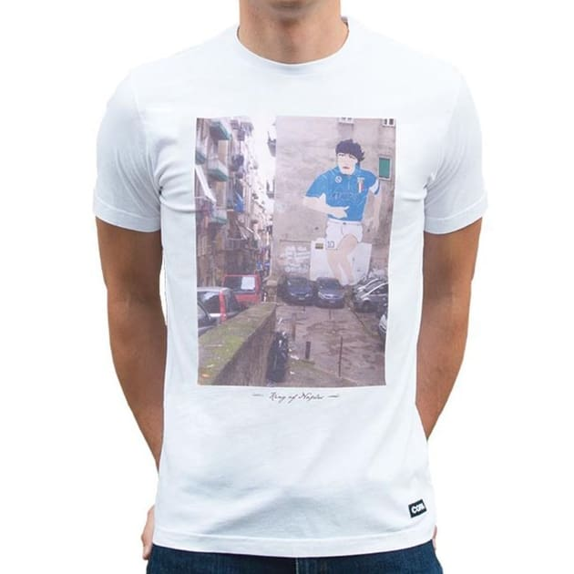 Copa King of Naples T-Shirt Weiß