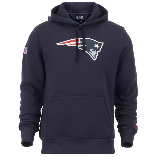New Era Team Logo Hoodie New England Patriots Bunt