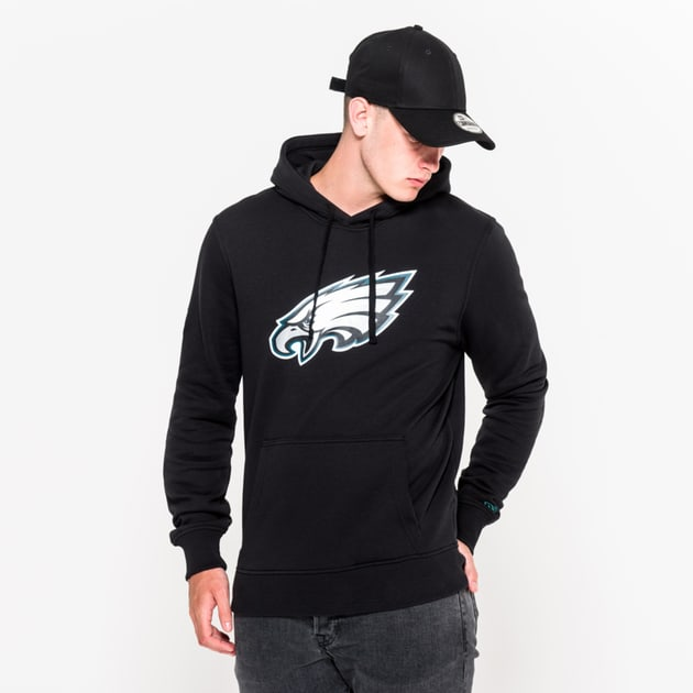 New Era Team Logo Hoodie Philadelphia Eagles Bunt