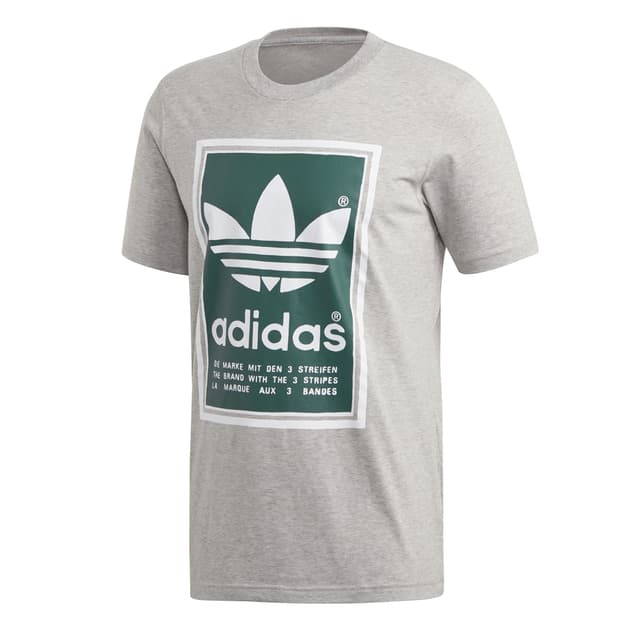 adidas Originals FILLED LABEL Grau