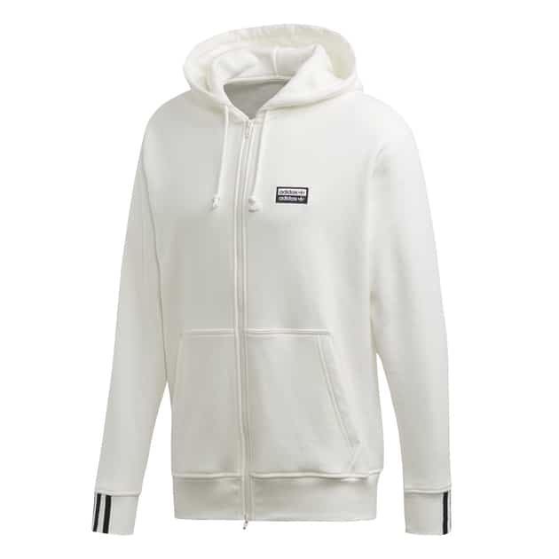 adidas Originals VOCAL FZ HOODY Weiß