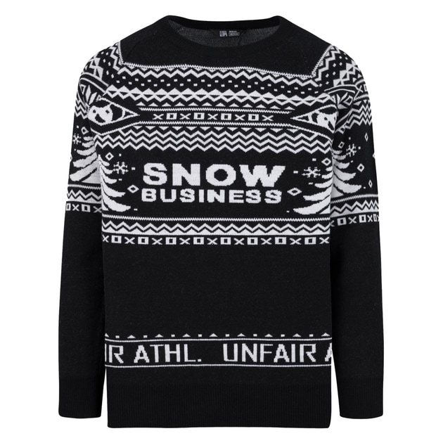 Unfair Athletics Snow Buisness Ugly Sweater bei Sport Münzinger München