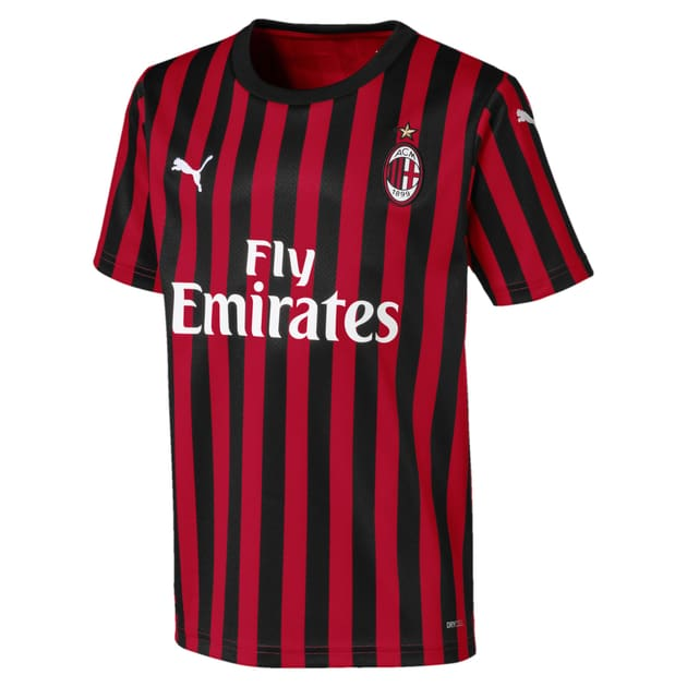 Puma AC Milan Home Trikot Kids Neutral