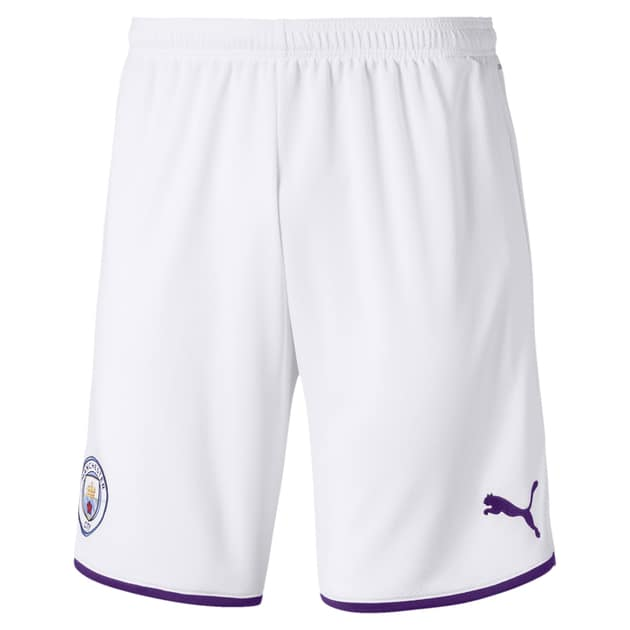 Puma Manchester City Home Short Weiß