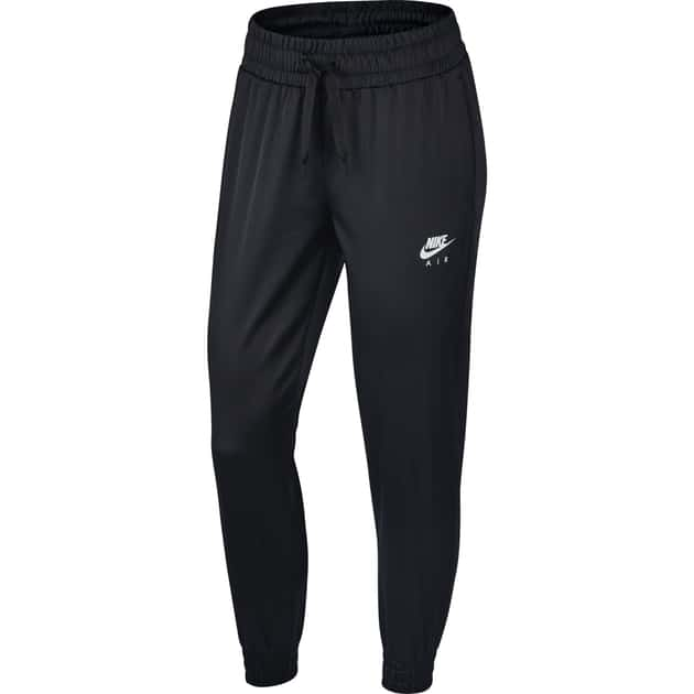Nike W NSW AIR TRK PANT SATIN Schwarz