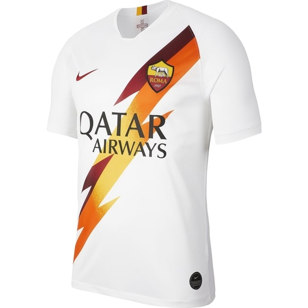 Nike AS Rom Away Trikot Weiß
