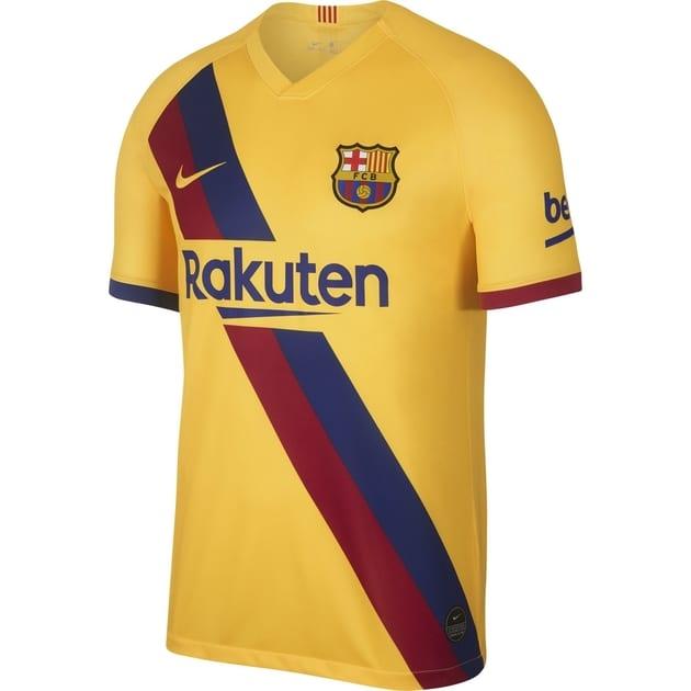Nike FC Barcelona Away Trikot Lime