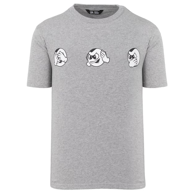 Unfair Athletics No Evil PB T-Shirt Grau