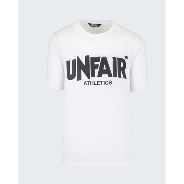 Unfair Athletics Unfair Classic Label T-Shirt Weiß