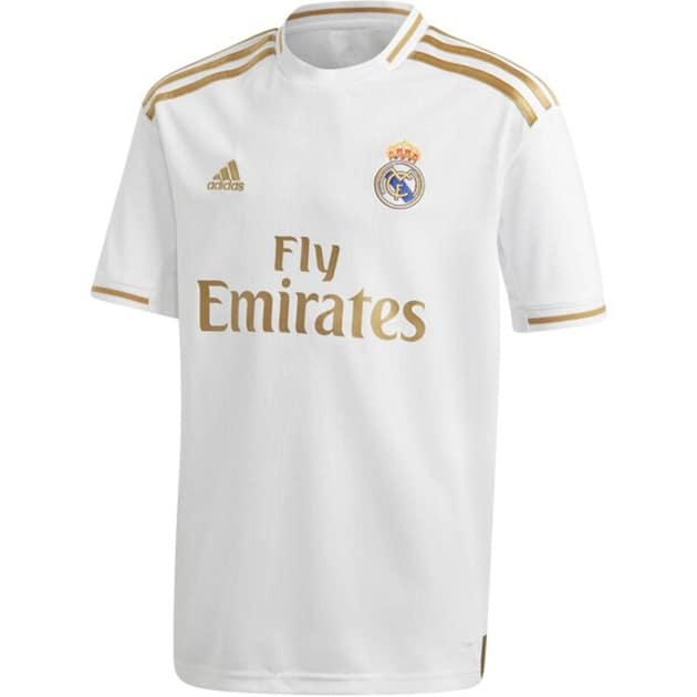 adidas Real Madrid Home Trikot Kids Weiß