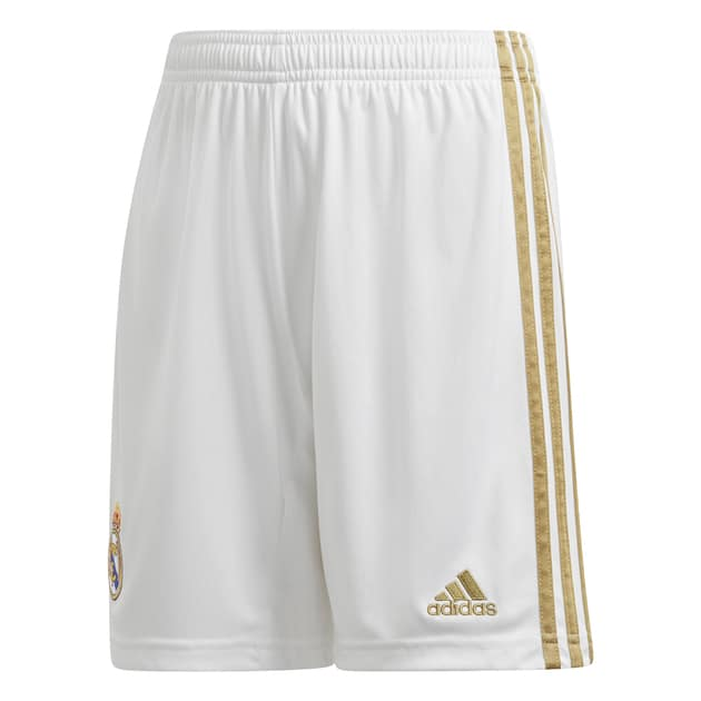 adidas Real Madrid Home Short Kids Weiß