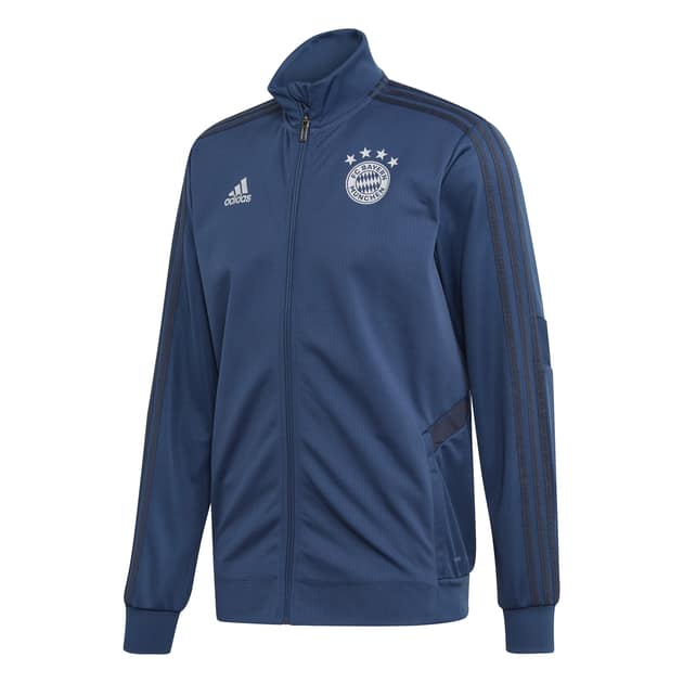adidas FC Bayern Training Jacket Blau