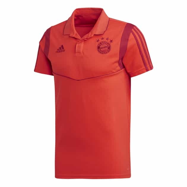 adidas FC Bayern CO Polo Rot