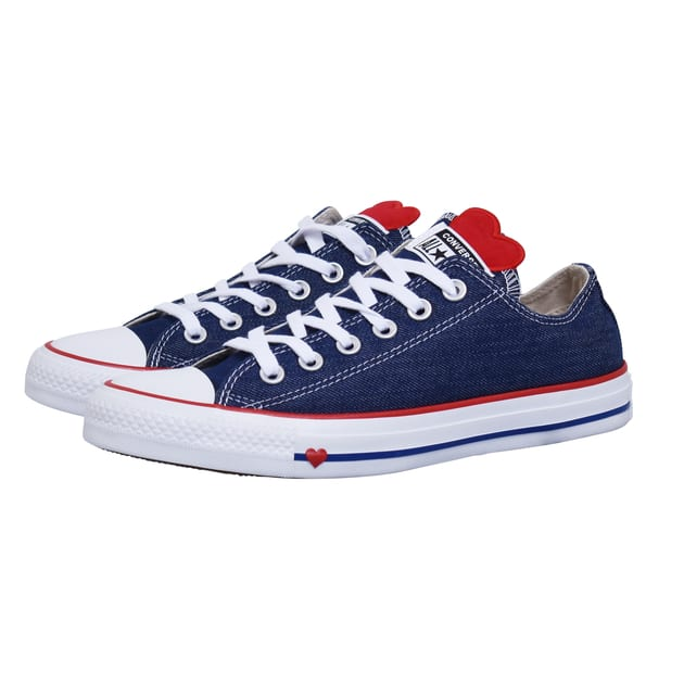 Converse CHUCK TAYLOR ALL STAR DENIM LO Blau