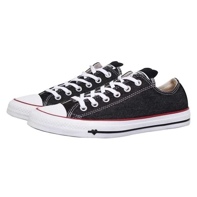 Converse CHUCK TAYLOR ALL STAR DENIM LO Weiß