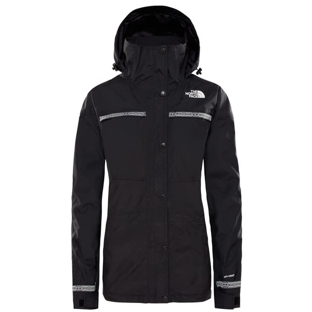 The North Face W 92 RTO RAGE RAIN Schwarz