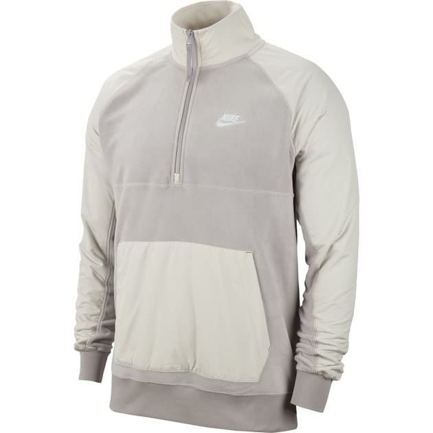 Nike M NSW CE Top HZ Winter Grau