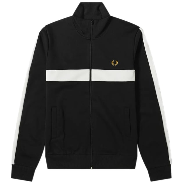Fred Perry Contrast Panel Track Jacket bei Sport Münzinger München