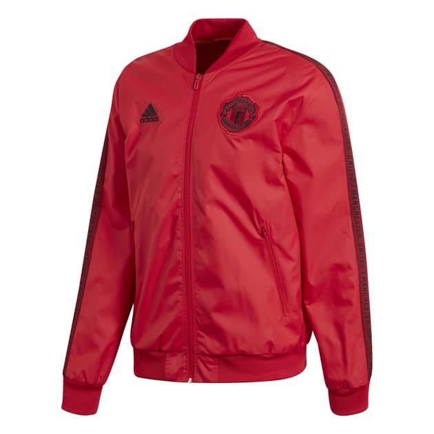 adidas Manchester United Anthem Jacket Rot