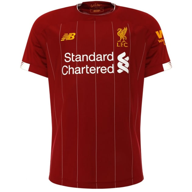 New Balance Liverpool FC Home Trikots Kids Rot