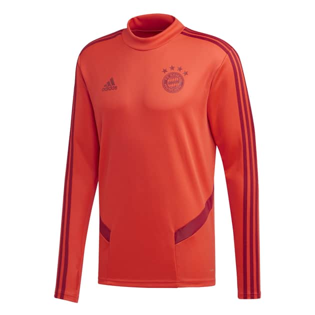 adidas FC Bayern Training Top Rot