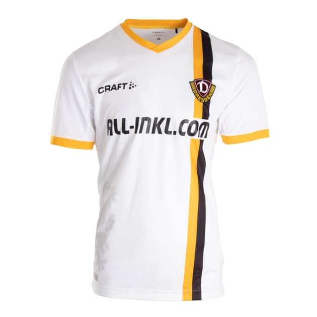 Craft Dynamo Dresden Away Trikot Neutral