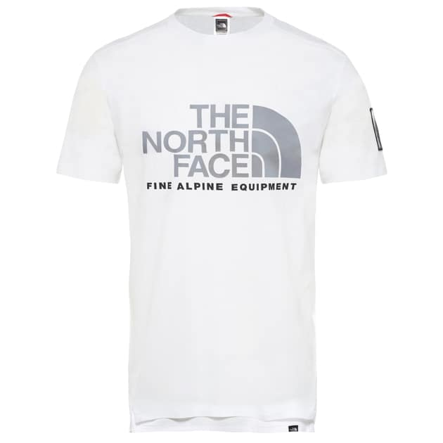 The North Face M SS FINE ALP EQUTEE Weiß