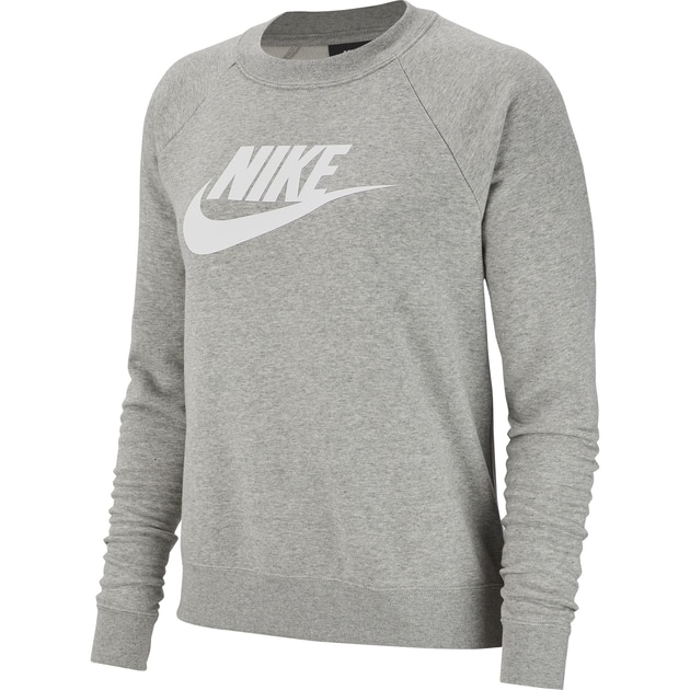Nike W NSW Essential Crew FLC HBR Anthrazit